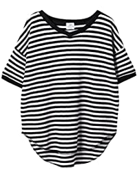 (コーエン) COEN tシャツ ワッフルVネックTシャツ(カットソー) 76256038034 レディース