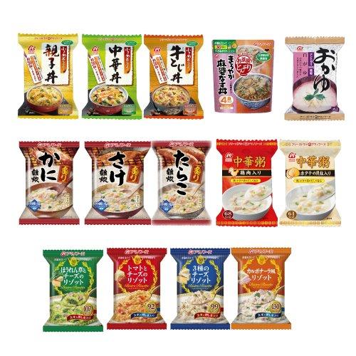 アマノフーズ フリーズドライ セレクト BOX ご飯もの 14種類 バラエティ セット [ 炙り雑炊...