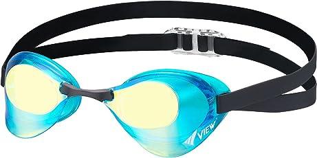 ビュー(VIEW) スイミング 競泳用 ゴーグル ミラータイプ ブレード Fina承認 V121MR