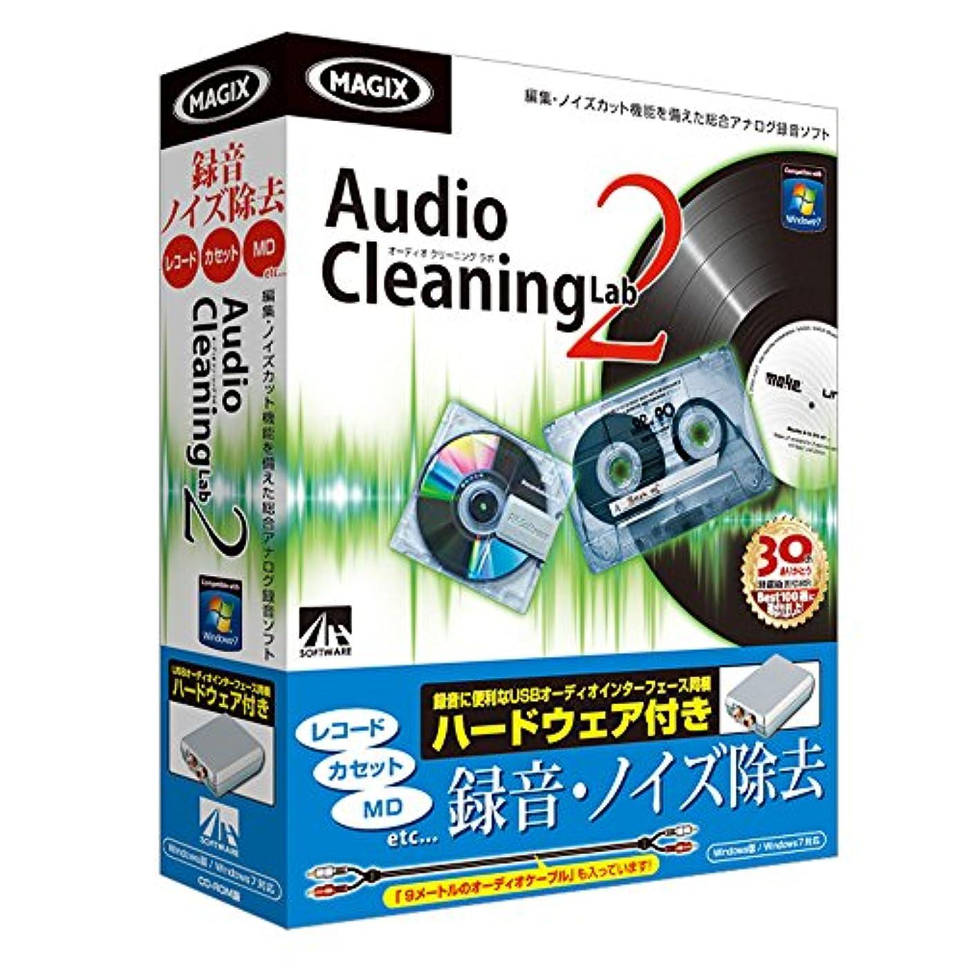 アニメーションいたずらな非効率的なAudio Cleaning Lab 2 ハードウェア付き