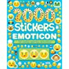 2000 Stickers Emoticon: 36 Smiley and Fun Activities!