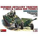 1/35 ドイツ軍 T-70(R) & 76.2mm野戦砲