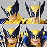 figure complex AMAZING YAMAGUCHI Wolverine ウルヴァリン 約155mm ABS&PVC製 塗装済みアクションフィギュア リボルテック 画像