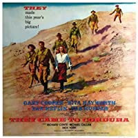 They Came to Corduraポスター30x 30Gary Cooperリタ・ヘイワースバン・ヘフリン Unframed 434908