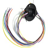Taidacent High Speed ​​Ball Conductive Slip Ring 12 Wire 2A Collector Ring Rotating Joint Rotary Connector Rotary Electrical