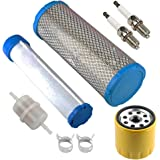 M131802 M144098 Air Filter with 25 050 33-S Oil Filter 24 050 13-S Fuel Filter for Kohler 25 083 04-S 25 083 01-S CH20S CH22S