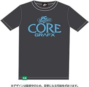 DOTLIKE SP/ PCエンジン コアグラフィックス Tシャツ グラファイト Sサイズ
