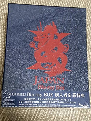 X JAPAN Blu-ray BOX(6枚組) [完全生産...