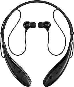 SoundPEATS【メーカー直販/1年保証付】Bluetooth イヤホン 高音質 ハンズフリー通話 ネックバンド型 CVC6.0ノイズキャンセリング機能搭載 防水 防滴 スポーツ仕様 ワイヤレス イヤホン Q800(ブラック)