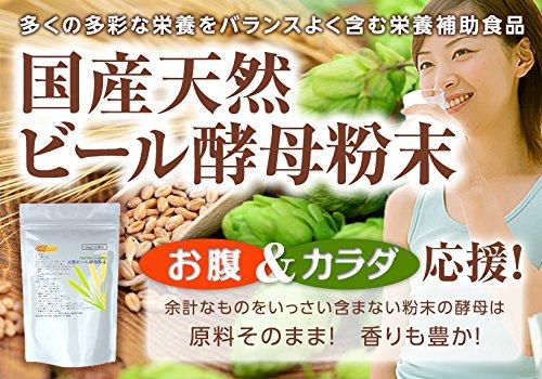 ビール酵母粉末 1kg 乾燥天然 (原料:キリン)100% 栄養素の宝庫 【計量スプーン付】NICHIGA(ニチガ)