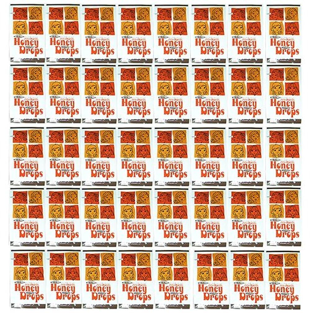 ブレイズ夕食を食べる関与するハニードロップス(Honey Drops) 20ml 使い捨て潤滑ローション D柄 × 40個入