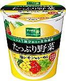 サッポロ一番 グリーンプレミアム たっぷり野菜 塩レモン味らーめん 74g×12個