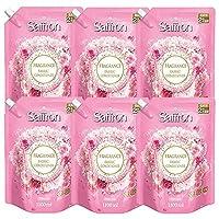 【セット品】【大容量】 香りサフロン 柔軟剤 フローラルの香り 詰替用大容量 1100ml ×6個