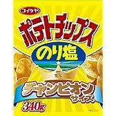 コイケヤ チャンピオンサイズ ポテトチップスのり塩 340g
