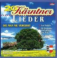 20 Kaerntner Lieder Die M