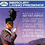 Gould: West Point Symphony/Hovhaness: Symphony No.4/Giannini: Symphony No. 3