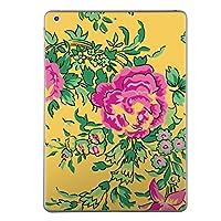 iPad mini4 スキンシール apple アップル アイパッド ミニ A1538 A1550 タブレット tablet シール ステッカー ケース 保護シール 背面 人気 単品 おしゃれ フラワー 花 ピンク イラスト 004704