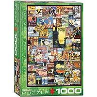 ジグソーパズル 1000ピース ユーログラフィックス 世界中を旅する 6000-0755