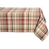 DII Table Runner, Z02346, 100% Cotton, Cabin Plaid, 60x84
