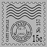 デコアートステンシルシート 670-1013