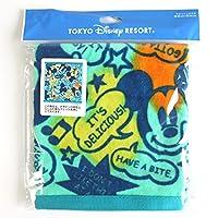ミッキーマウス ( ミッキー ポップ柄 ) ウォッシュタオル ( 東京 ディズニーリゾート限定 グッズ お土産 )