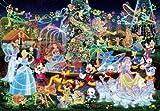 500ピース ジグソーパズル ディズニー マジカルイルミネーション(35x49cm)