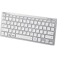 エレコム Bluetooth マルチペアリング ミニキーボード パンタグラフ式 軽量・薄型 3台同時ペアリング mac…