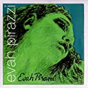 Pirastro Evah Pirazzi バイオリン弦 エヴァ ピラッツィ E,A,D,G線セット E線:ボール (子供用サイズ:3/4-1/2)