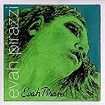 Pirastro Evah Pirazzi バイオリン弦 エヴァ・ピラッツィ E,A,D,G線セット E線:ボール (子供用サイズ:3/4-1/2)