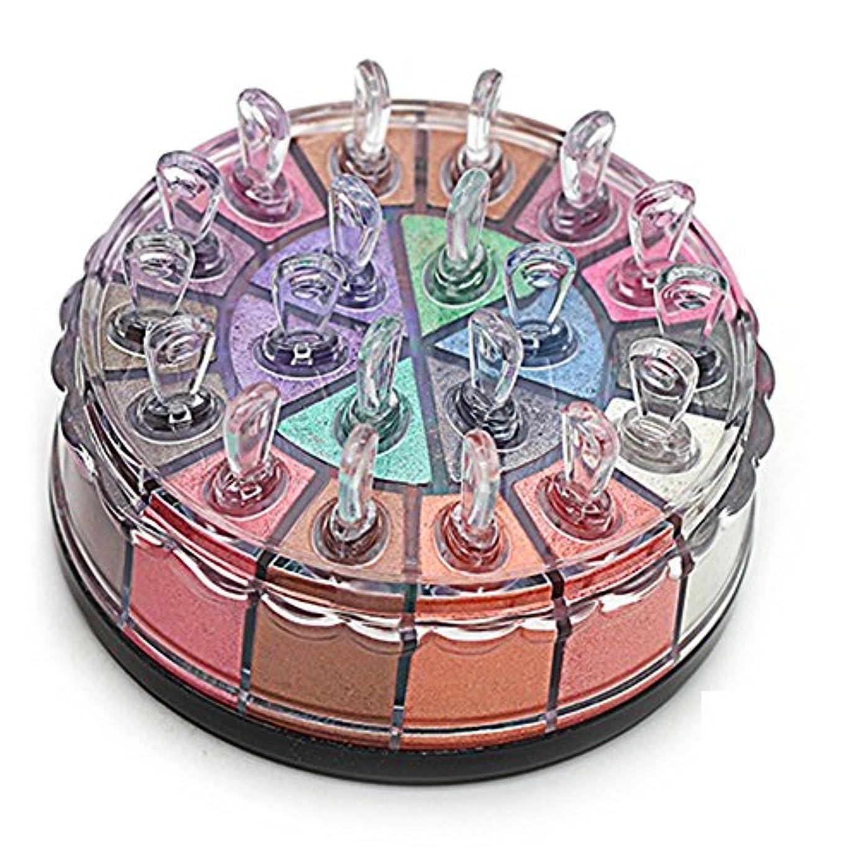 ソーシャルパンダ物理的なMatte Eyeshadow YOKINO アイシャドー パレット 化粧筆 専門化粧 人気 イシャドウ 20色 (2#)