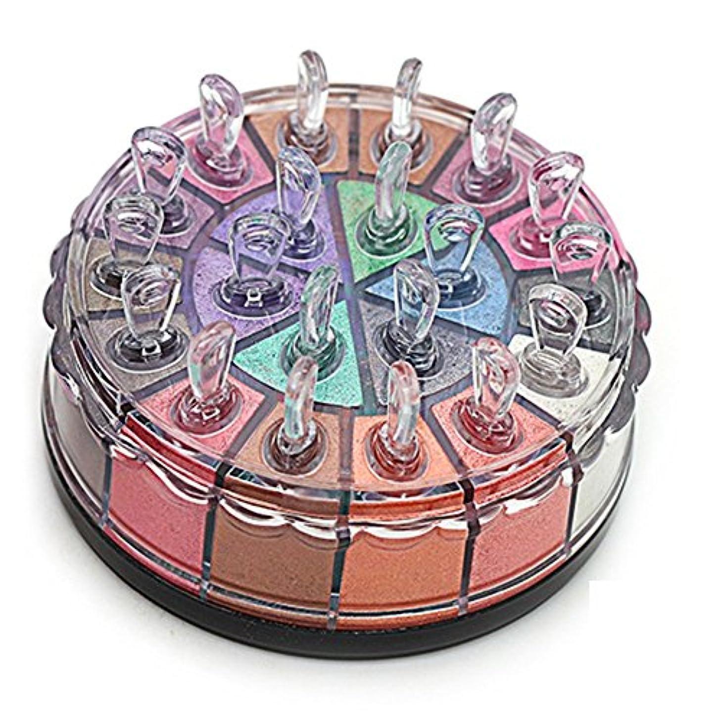 ぐったり気取らない原始的なMatte Eyeshadow YOKINO アイシャドー パレット 化粧筆 専門化粧 人気 イシャドウ 20色 (2#)