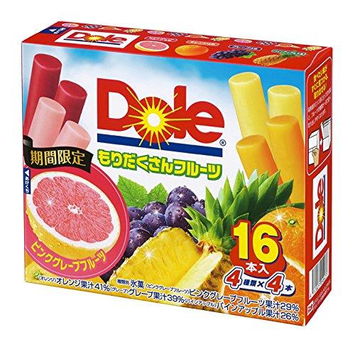 ロッテ Doleもりだくさんフルーツ 25ml×16本×8袋