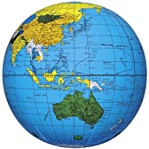 地球儀ボール ブルー 40cm