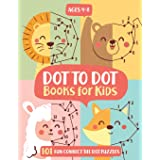 Dot To Dot Books For Kids Ages 4-8: 101 Fun Connect The Dots Books for Kids Age 3, 4, 5, 6, 7, 8   Easy Kids Dot To Dot Books