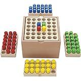 木製おもちゃのだいわ ペグゲームセットベーシック ゲーム 家族 おもちゃ 知育 知育玩具 木製 木製おもちゃ