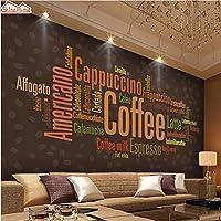 Shine home-coffee Lettersメニューファッションアート壁紙壁画Rolls forホテルバーStoreレストラン寝室ダイニングリビングルーム ZL843532