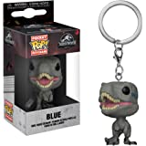 Funko Pop Keychain: Jurassic World 2 - Blue Velociraptor Collectible Figure, Multicolor