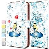 [KEIO ブランド 正規品] Xperia Z5 ケース 手帳型 アリス Z5 手帳型ケース キャラクター Xperia カバー Z5 アリス エクスペリア 童話 うさぎ ittnアリスt0382