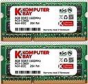 Komputerbay DDR3-1600 1.35V(低電圧) ノートPC用SODIMM 16GBセット (8GB×2) PC3-12800