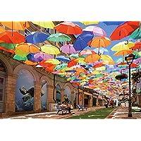 1000ピース ジグソーパズル 死ぬまでに行きたい! 世界の絶景 アンブレラスカイプロジェクト(ポルトガル)(51x73.5cm)