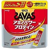 ザバス(SAVAS) アミノパワープロテイン(ホエイ+ロイシン) パイナップル風味 4.2g×33本
