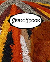 Sketchbook: Spices Diary /Journal / Diary