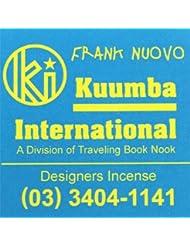 KUUMBA / クンバ『incense』(FRANK NUOVO) (Regular size)