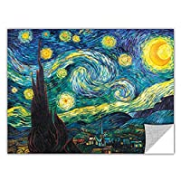 ArtWall Art Appealz 'Starry Night' Removable Wall Art Graphic by Vincent Van Gogh, 24 by 32-Inch [並行輸入品]