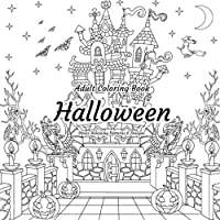 Halloween - Adult Coloring Book - Stress Relieving Patterns & Designs