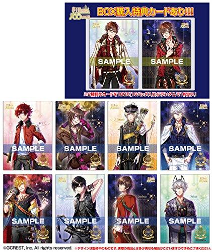 夢王国と眠れる100人の王子様 クリアカードコレクションガム 初回限定版 16個入りBOX (食玩)