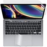 【3点セット】 MacBook Pro 13インチ 2020用 ブルーライトカットフィルム 液晶保護フィルム 超反射防止 映り込み防止 指紋防止 気泡レス 抗菌ブルーライトカット アンチグレア