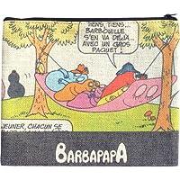バーバパパ フラットポーチ すやすや 男女共用 H18cm x W23cm BPAP96R