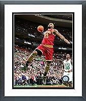 "Lebron James Cleveland Cavaliers 2014NBAアクション写真(サイズ: 22.5"" X 26.5CM )フレーム"