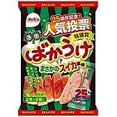 栗山米菓 ばかうけまさかのスイカ風味 18枚×12袋
